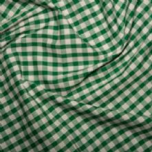 60% OFF Green Gingham 1/4